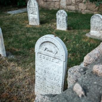 Cemetery in Bar Harbor
